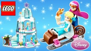 Lego Disney Princess ⭐ Frozen Elsa's Sparkling Ice Castle 41062 With Princess Anna And Olaf