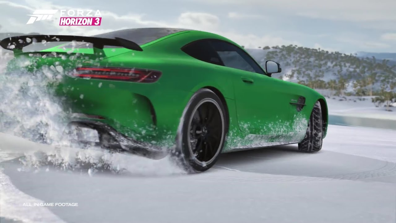 Drive Mercedes-AMG GT R in Forza Horizon 3 Racing Game