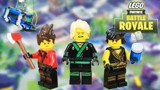 Lego Fortnite NinjaGo vs Garmadon Episode 03