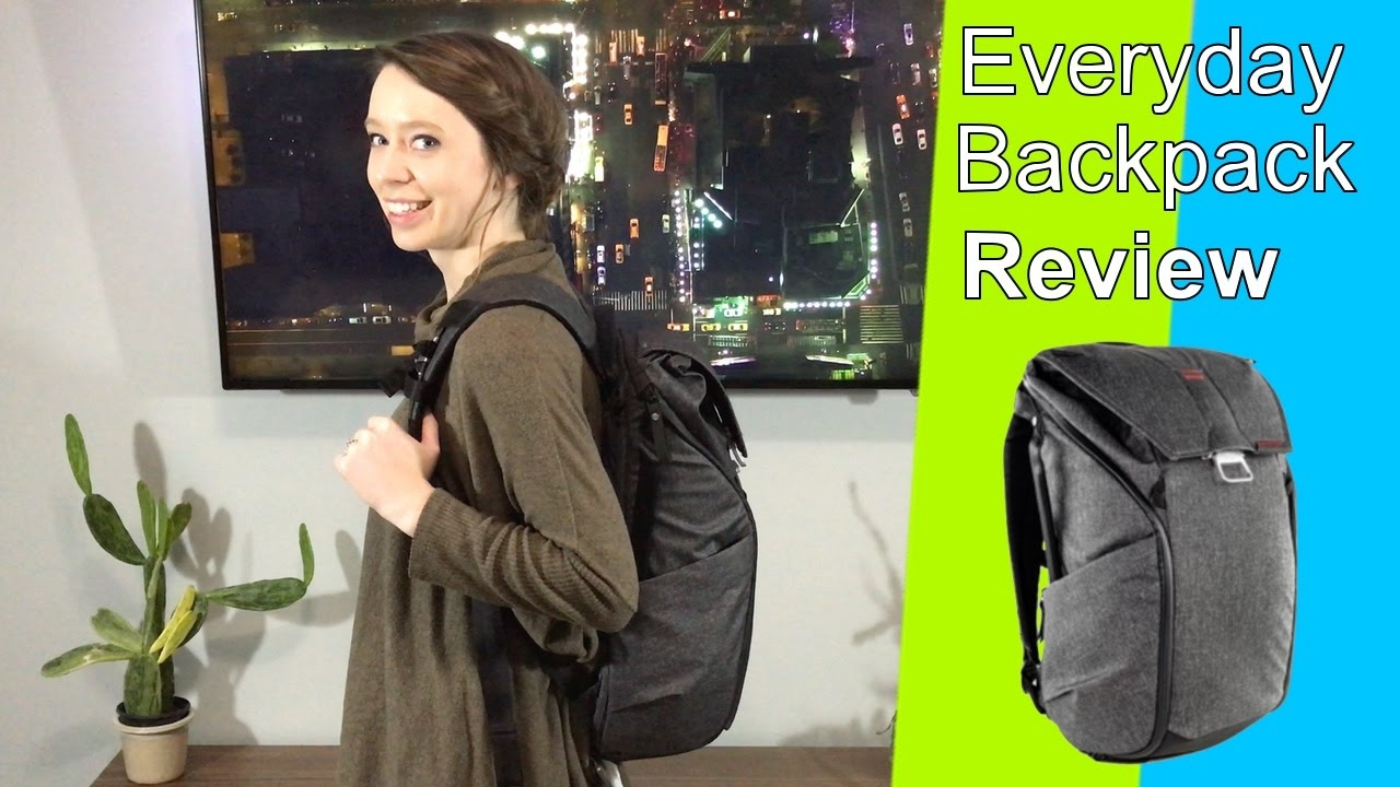 Peak Design Everyday Backpack 20L Review - YouTube 0d0cc529b130e