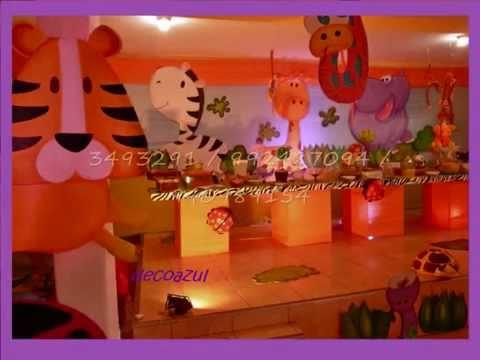 Decoracion safari decoracion de fiestas infantiles - Ideas decoracion infantil ...
