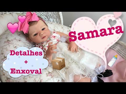 Detalhes e Enxoval da Bebê Samara - Ana Paula Guimarães