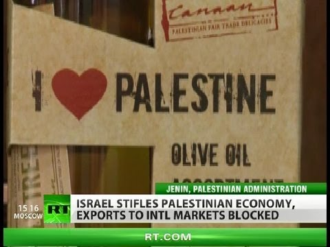 Tough Stuff: 'Made in Palestine' market choked by Israel
