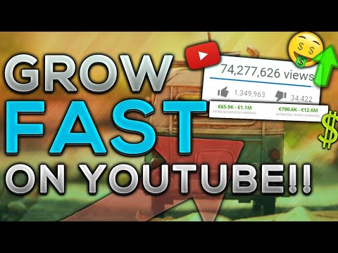 More clear version of how to grow your channel