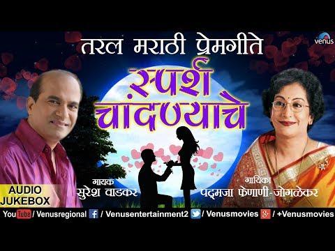 स्पर्श चांदण्याचे   Sparsh Chandanyache   Suresh Wadkar   Best Marathi Bhavgeet   Prem Geet मराठी