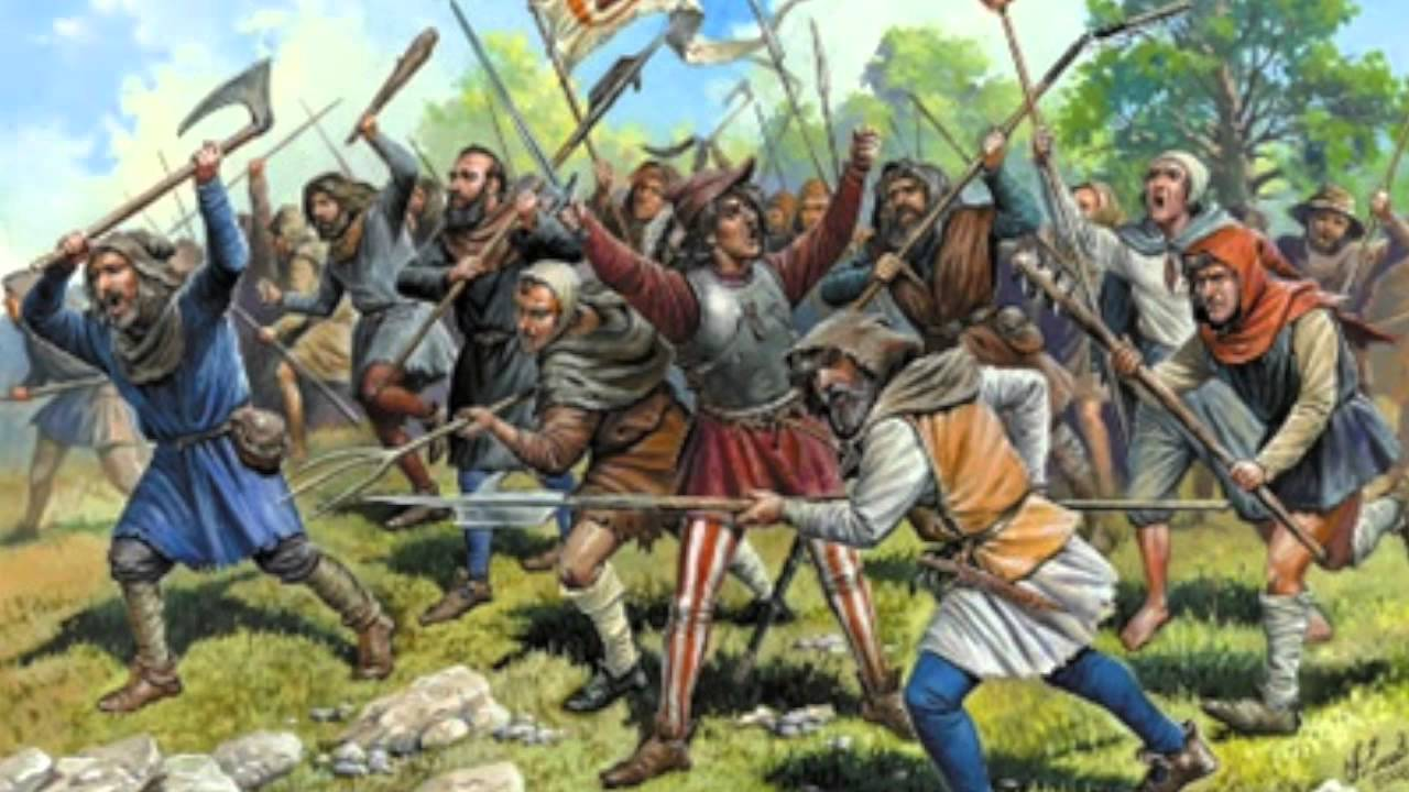 peasant revolts in the 14th century Popular revolts in late medieval europe were uprisings and rebellions by (typically) peasants in the countryside, or the bourgeois in towns, against nobles, abbots and kings during the upheavals of the 14th through early 16th centuries, part of a larger &quotcrisis of the late middle ages&quot.