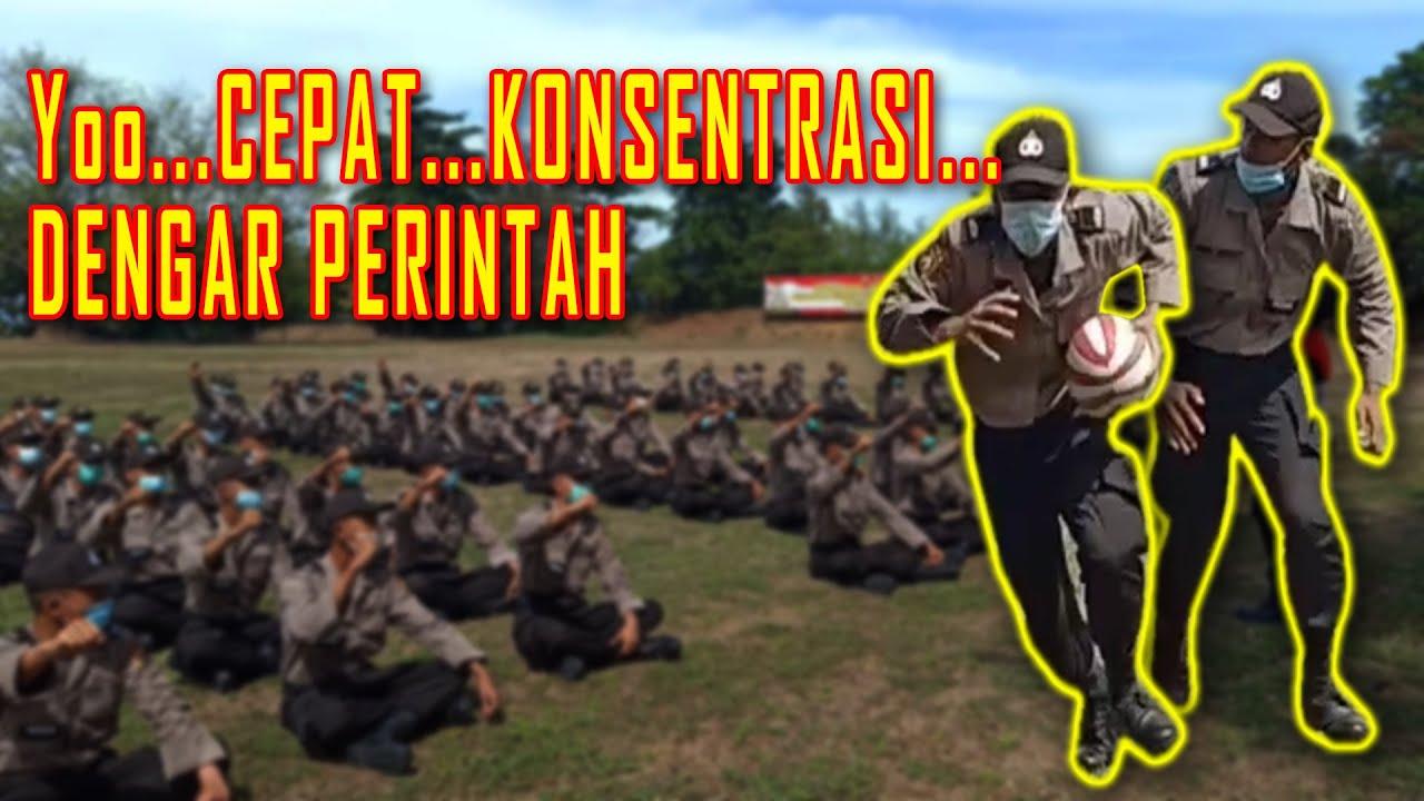 PRAKTEK KEPEMIMPINAN Siswa Bintara Polri 2020 SPN Singaraja