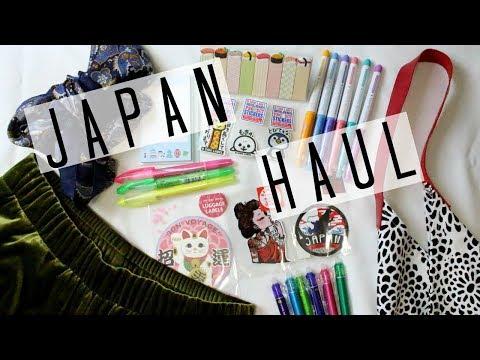 MASSIVE JAPAN HAUL // STATIONARY, STICKERS, UNIQLO & MORE!
