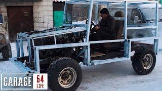 Transforming an UAZ into a G-wagon
