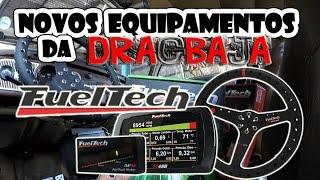Aln1001 Projeto Dragbaja #2 - Mostrando Os Novos Equipamentos Fueltech