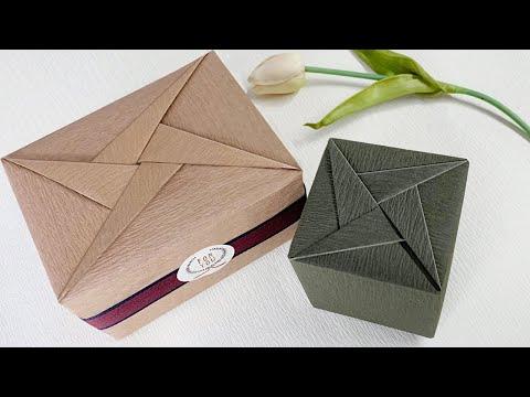 Gift Wrapping   禮物盒包裝教學 - 禮物包裝設計(幾何型)