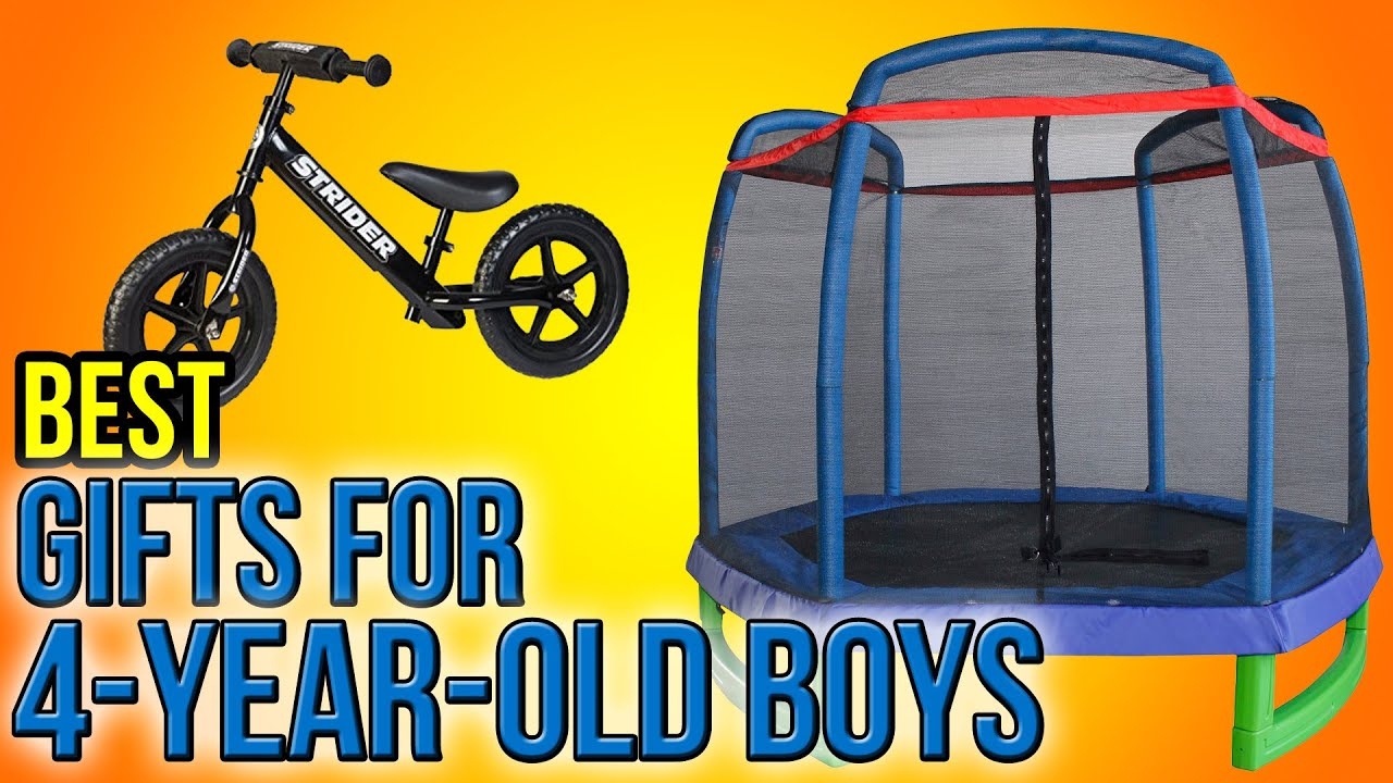 10 Best Gifts For 4-Year-Old Boys 2016
