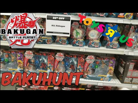 Toys R Us Bakugan Sale! BAKUHUNT! - Bakugan Battle Planet Hunting @Toys R Us & Walmart Canada