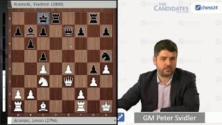Aronian-Kramnik, Berlin Candidates, Round 3