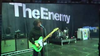 The Enemy - Be Somebody - Coventry Ricoh Arena - 7th July 2009