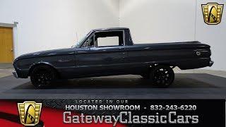 1962 Ford Ranchero Gateway Classic Cars #782 Houston Showroom