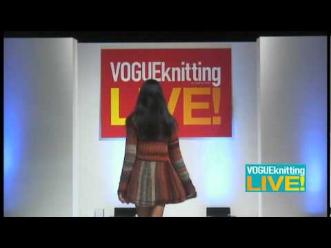 Skacel Knitting Fashion Show @ Vogue Knitting Live Los Angeles