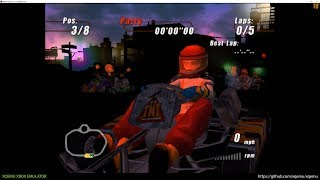 XQEMU Xbox Emulator - Furious Karting Ingame! (2497e2d + WIP)