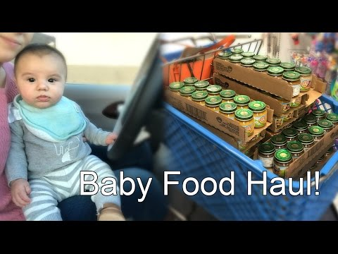 MAJOR BABY FOOD HAUL FROM TOYS R US!