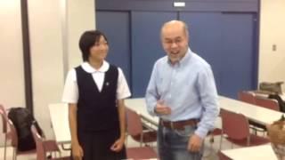 酒井さんは中学3年に日本女子サッカー選手を選んで凄いね。静岡市として...