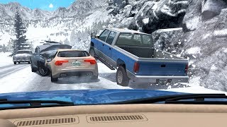 BeamNG.Drive Traffic Car Accidents Compilation #2