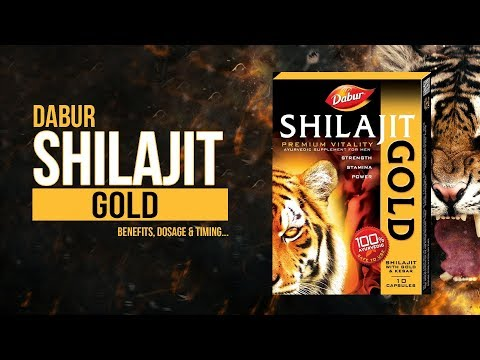Dabur Shilajit Gold Benefits, Dosage & When to take... thumbnail