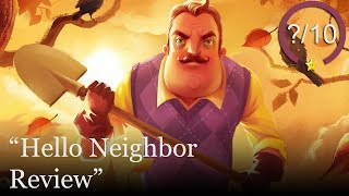 Hello Neighbor Review [PS4, Switch, Xbox One, & PC]