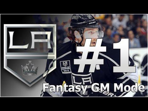 NHL 16 GM Mode – LA Kings   Fantasy Draft   Ep. 1