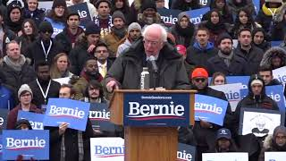 Bernie Sanders gets personal as he hits campaign trail