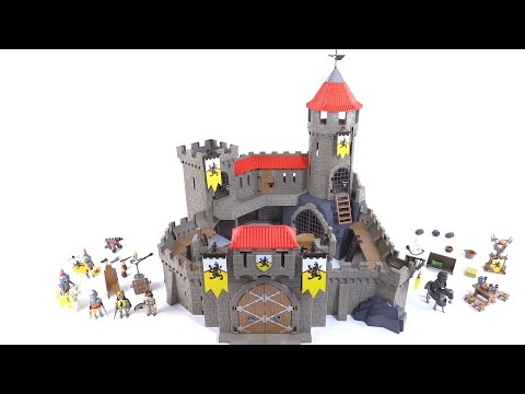 playmobil lion knight 39 s empire castle review set 4865. Black Bedroom Furniture Sets. Home Design Ideas
