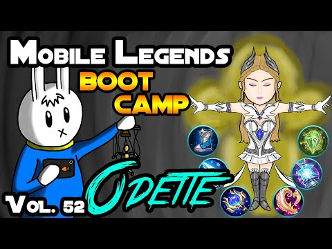 ODETTE - TIPS, ITEMS, SPELL, EMBLEMS, TRICKS, AND GUIDE - MGL MOBILE LEGENDS BOOT CAMP VOLUME 52