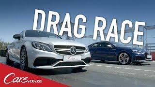 Drag Race | Audi RS5 vs Mercedes-AMG C63 S Coupe