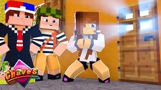 Minecraft: CHAVES #4 - MINHA CASA NA VILA DO CHAVES!