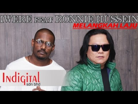 Iwere feat Ronnie Hussein - Melangkah Laju (Official Lyric Video)