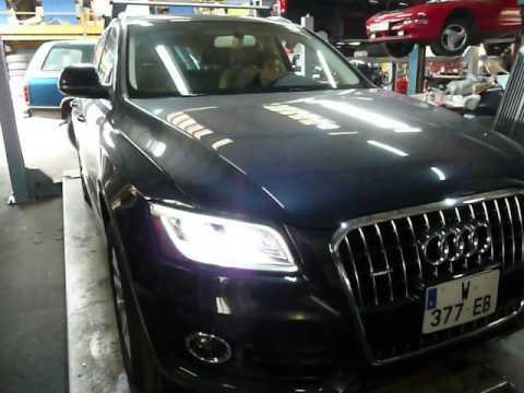 Audi Q5 USA modif pour France