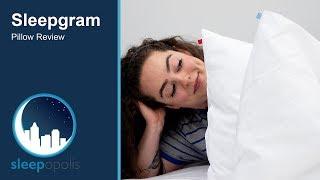 sleepgram pillow review can this pillow get you a better night sleep