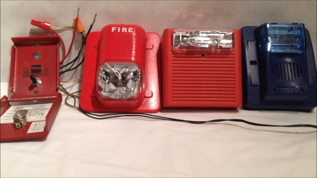 Wiring Diagram Of Fire Alarm