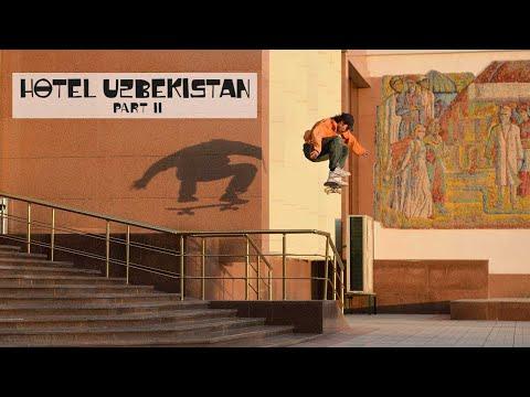 A Skate Mission Train Ride Deep Into Uzbekistan  | HOTEL UZBEKISTAN Part 2