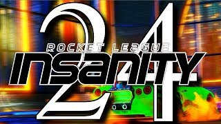 ROCKET LEAGUE INSANITY 24 ! (BEST GOALS, HEL-JUMP, CEILING SHUFFLE, RESETS, DRIBBLES)