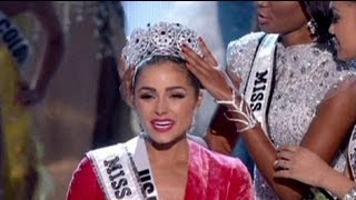 American crowned Miss Universe 2012