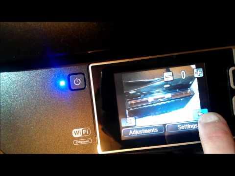 Epson WorkForce Pro WF 4630 Interface
