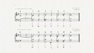 Piston Ejemplo Armonización melodía (Error corregido)