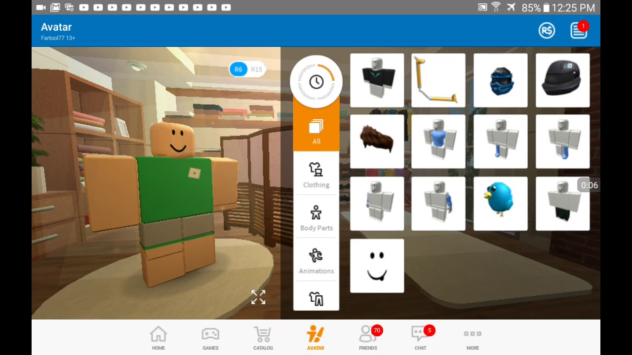 How to make your own clothes on roblox ipad