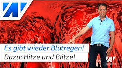 Am Wochenende Blutregen über Deutschland!😲 (Mod.: Dominik Jung)