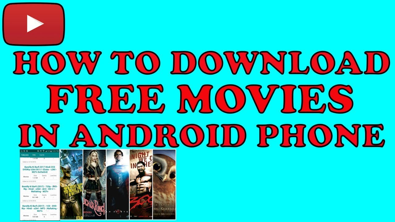 3d movies for android phones free download