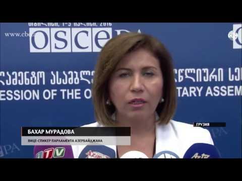 На полях сессии ПА ОБСЕ в Тбилиси состоялась встреча делегаций Азербайджана, Грузии и Армении