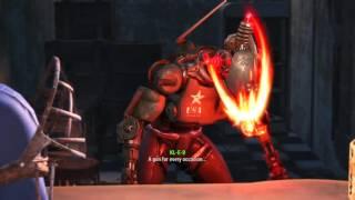 Fallout 4 - what happens when u hack Kleo