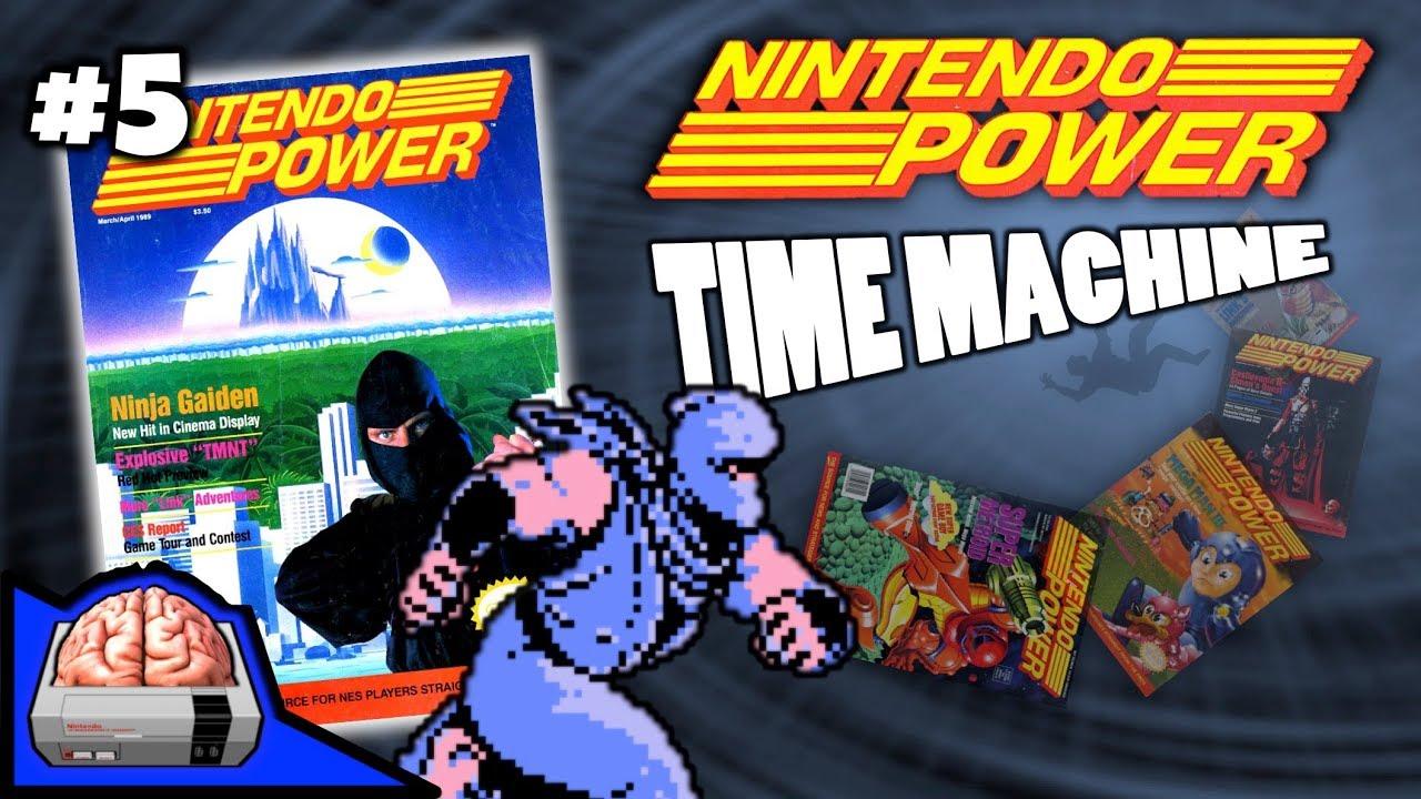 Nintendo Power Time Machine Issue 5 Ninja Gaiden Captain N