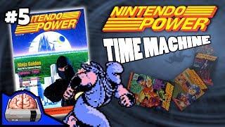 Nintendo Power Time Machine Issue #5 | Ninja Gaiden | Captain N | NES Magazine Review