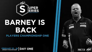 BARNEY IS BACK! Van Barneveld v Bunting | Super Series Day One